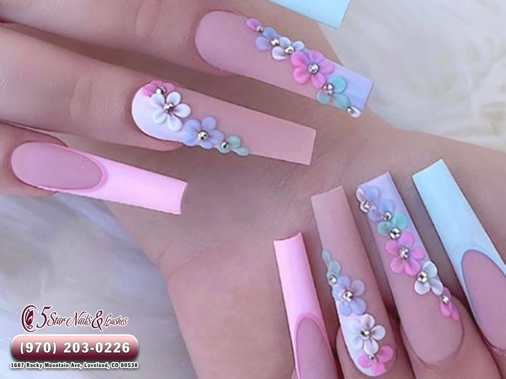 5 Star Nails & Lashes -  Nail salon in Centerra Marketplace Centerra Loveland CO 80538
